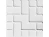 WallArt Tetris circulaire wandpanelen